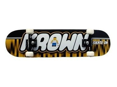 Krown Rookie Skateboard Komplettboard Big Logo 7.5 inch