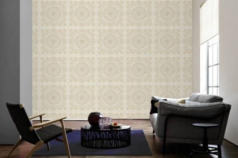 Versace Designer Barock Vliestapete IV 37055-1 - Creme / Beige - Design Tapete - Hochwertige Qualität - Vorschau 2