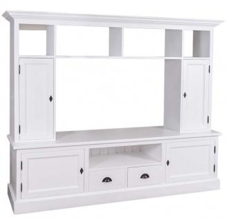 wohnzimmer landhausstil weiss g nstig online kaufen yatego. Black Bedroom Furniture Sets. Home Design Ideas