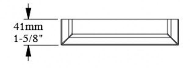 Casa Padrino Barock Wanddeko Sockel Weiß 18, 5 x 4, 1 x H. 54, 1 cm - Deko Zierelement Säulenfuß - Vorschau 4