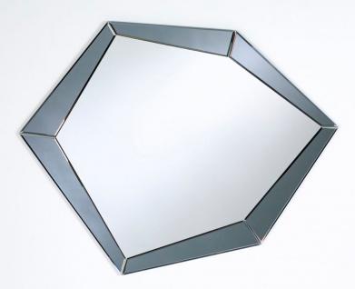 Casa Padrino Luxus Spiegel Rauchgrau 90 x H. 71 cm - Designermöbel & Accessoires