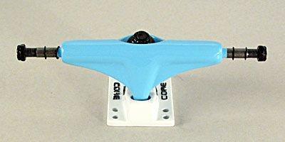 Core Skateboard Achsen Set 5.0 neon blau/weiß (2 Achsen)