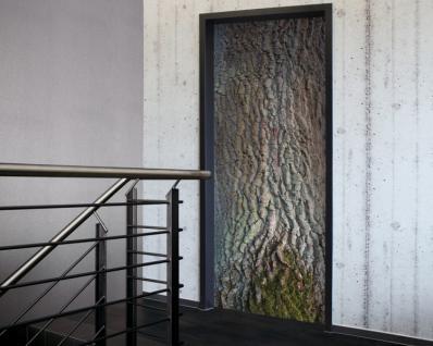 Tür 2.0 XXL Wallpaper für Türen 20023 Eiche - selbstklebend- Blickfang für Ihr zu Hause - Tür Aufkleber Tapete Fototapete FotoTür 2.0 XXL Vintage Antik Stil Retro Wallpaper Fototapete