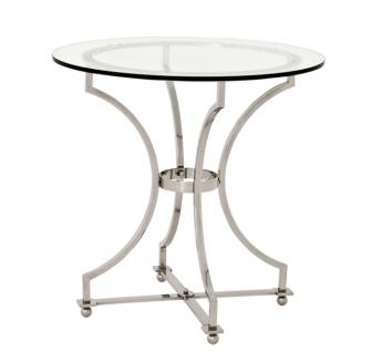 Casa Padrino Luxus Art Deco Designer Beistelltisch 75 x H. 74 cm - Luxus Beistelltisch