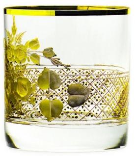 Casa Padrino Luxus Barock Whisky Glas 6er Set Gold Ø 8 x H. 9 cm - Handgefertigte und handgravierte Whiskygläser - Hotel & Restaurant Accessoires - Luxus Qualität - Vorschau 2