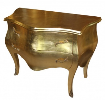 Casa Padrino Barock Kommode Gold 100cm Antik Stil - Vorschau 2