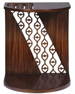 Casa Padrino Luxus Mahagoni Snack Tisch / Beistelltisch Dunkelbraun 42 x 43 x H. 55 cm - Luxus Möbel - Vorschau 4