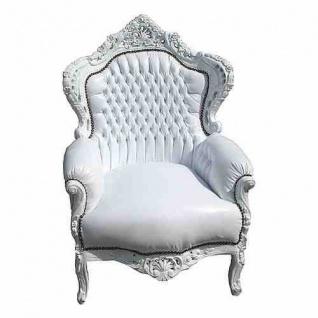 barock sessel wei g nstig online kaufen bei yatego. Black Bedroom Furniture Sets. Home Design Ideas