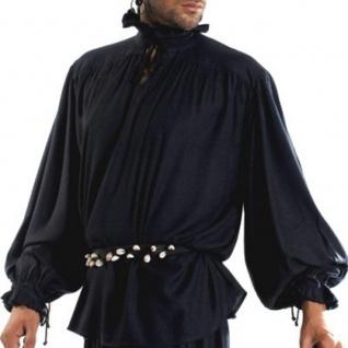 David Herriot Piraten Shirt - Black