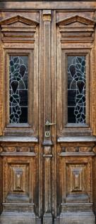 Tür 2.0 XXL Wallpaper für Türen 20009 Berlin - selbstklebend- Blickfang für Ihr zu Hause - Tür Aufkleber Tapete Fototapete FotoTür 2.0 XXL Vintage Antik Stil Retro Wallpaper Fototapete - Vorschau 2