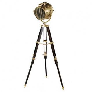 Elegante Stativ-Lampe Tripod floor lamp Höhe: 190 cm höhenverstellbar - Hochwertige Messing Stehleuchte - Luxus Qualität