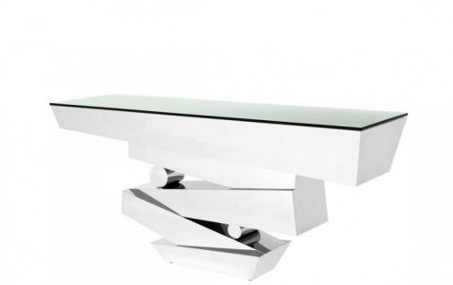 Casa Padrino Luxus Konsole 180 x 50 x H. 80 cm - Luxus Qualität