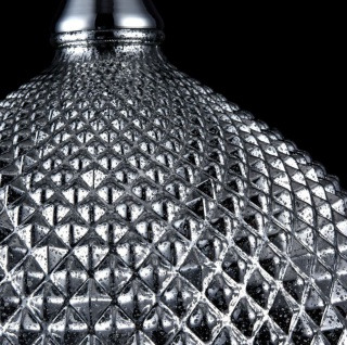 Casa Padrino Luxus Hängeleuchte Silber Ø 28 x H. 15, 3 cm - Luxus Wohnzimmermöbel - Vorschau 4