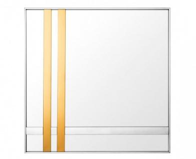 Casa Padrino Designer Luxus Wandspiegel Gold 94 x H 94 cm - Luxus Qualität