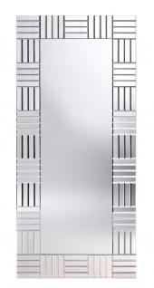 Casa Padrino Luxus Wohnzimmer Wandspiegel 70 x H. 154 cm - Luxus Möbel & Accessoires