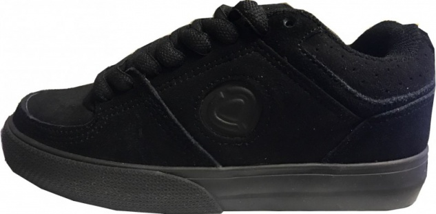 C1rca Skateboard Schuhe 208K All Black - Sneakers Turnschuhe Sneaker