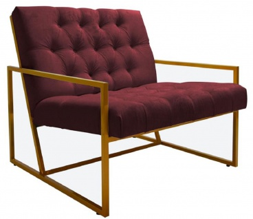 Casa Padrino Luxus Chesterfield Sessel 84 x 87, 5 x H. 80 cm - Verschiedene Farben - Chesterfield Möbel - Vorschau 2
