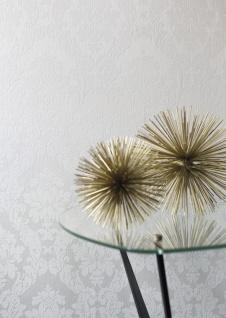 Casa Padrino Barock Viscose Textiltapete / Stofftapete Weiß - 10, 05 x 0, 53 m - Tapete im Barockstil - Vorschau 2