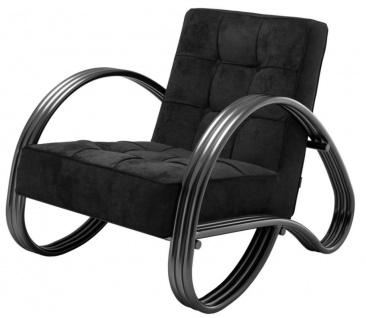Casa Padrino Luxus Sessel Bronze 75 x 98 x H. 78 cm - Designer Sessel
