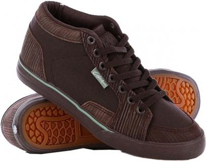 Circa Skateboard Schuhe Pusher Wmn - Dark Brown/Wood/Century
