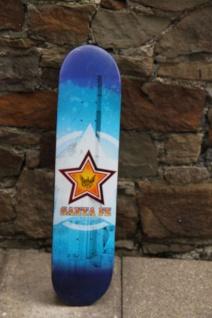 Santa Fe Profi Skateboard Deck Blue 8.0 inch - Lagerware mit leichten Kratzern