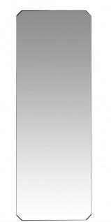 Casa Padrino Luxus Spiegel mit schwarz pulverbeschichteten Stahlrahmen 80 x H. 220 cm - Luxus Kollektion