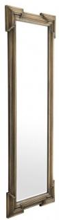 Casa Padrino Luxus Spiegel Antik Messing 85 x H. 220 cm - Designer Wandspiegel