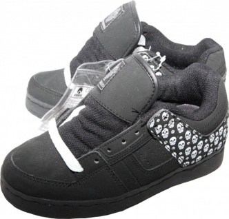 Osiris Skateboard Schuhe Tron Kids Black/Maxx/Skull Sneaker Shoes