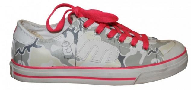 Etnies Skateboard Damen Schuhe Bernie Camo/white/Pink sneakers shoes
