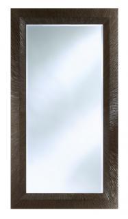 Casa Padrino Luxus Spiegel in greige mit schwarzer Patina 105 x H. 192 cm - Designermöbel