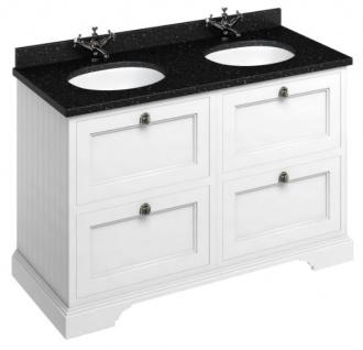 Casa Padrino Doppel Waschschrank mit Granitplatte und 4 Schubladen 130 x 55 x H. 93 cm - Vorschau 3
