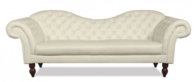 Casa Padrino Chesterfield 3er Sofa Venedig - Echt Leder Creme