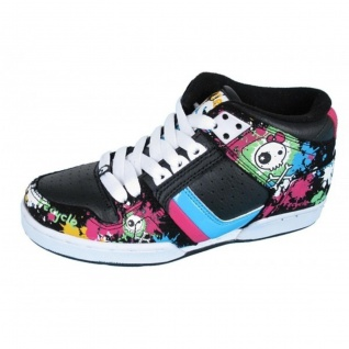 Osiris Skateboard Schuhe-- South Bronx Girls- BB/Splatter/Black/ Multi