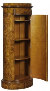 Casa Padrino Luxus Jugendstil Kommode mit Tür Hellbraun 62 x 39 x H. 145 cm - Barock & Jugendstil Möbel - Vorschau 1