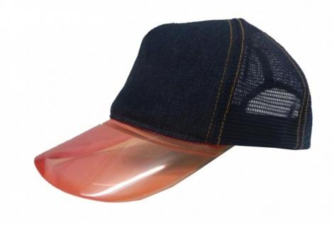 Sunglass Cap Demolition Sports Jeans Blau/Pink