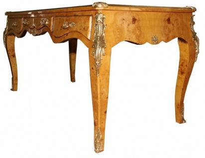 Casa Padrino Luxus Barock Schreibtisch Vogelaugen Ahorn Sekretär - Antik Stil - Vorschau 2