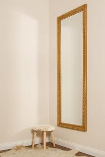 Casa Padrino Barock Wandspiegel Gold 62 x H. 187 cm - Handgefertigter Spiegel im Barockstil - Vorschau 4