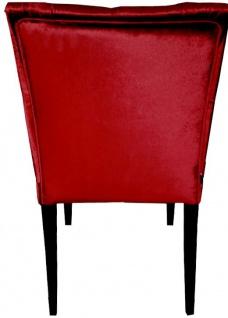 Casa Padrino Barock Esszimmer Stuhl Bordeaux Rot / Schwarz - Designer Stuhl - Luxus Qualität - Vorschau 2