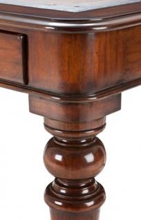 Casa Padrino Luxus Schreibtisch / Sekretär Mahagony Wood Antik Stil Braun 175 x 80 cm - Vorschau 2