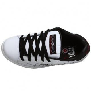 Osiris Skateboard Schuhe Troma II Kids White/Black/Red/Webs - Vorschau 5