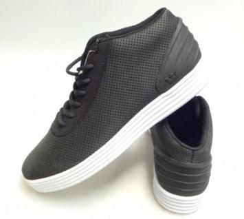 SUPRA Low- Skateboard Schuhe Cuttler Low- SUPRA Black Mesh / White ed9d38