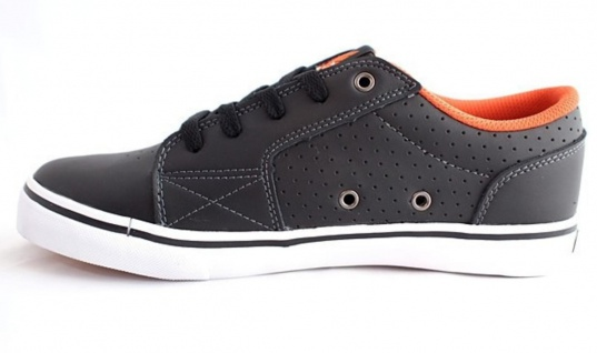 Vox Skateboard Schuhe Shovelhead Black Orange White