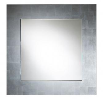 Casa Padrino Luxus Spiegel Silber 85 x H. 85 cm - Wohnzimmermöbel