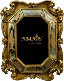 Pompöös by Casa Padrino Barock Bilderrahmen Gold von Harald Glööckler 27 x 18 cm - Antik Stil Photo Rahmen
