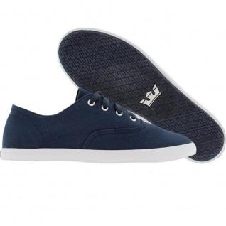 Supra Skateboard Schuhe Wrap Navy