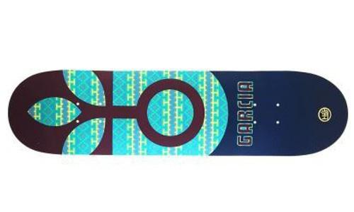 Habitat Skateboard Deck Garcia Bloom 8.18 inch + Koston Griptape