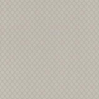 Casa Padrino Luxus Stofftapete Creme / Grau / Silber - 10, 05 x 0, 53 m - Textiltapete mit leicht strukturierter Oberfläche