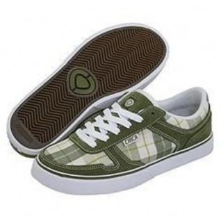Circa Skateboard Women Schuhe 4 Track Avocado / Green Originals Plaid - C1rca Shoes