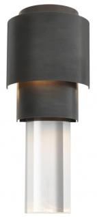 Casa Padrino Wohnzimmer Wandlampe Bronze 15 x 10 x H. 37 cm - Luxus Qualität