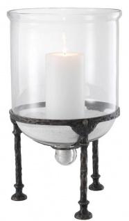 Casa Padrino Luxus Kerzenleuchter Rotguss Ø 28, 5 x H. 50 cm - Luxus Accessoires